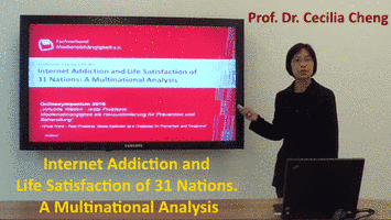 Internet Addiction and Life Satisfaction of 31 Nations. A Multinational Analysis - Prof. Dr. Cecilia Cheng