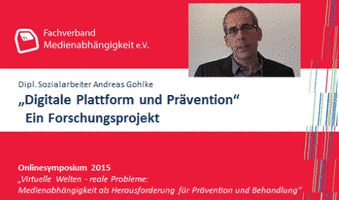 Fachverband plant Forschung Digitale Plattform & Prävention - Dipl.-Soz.Arb., syst. Therapeut Andreas Gohlke